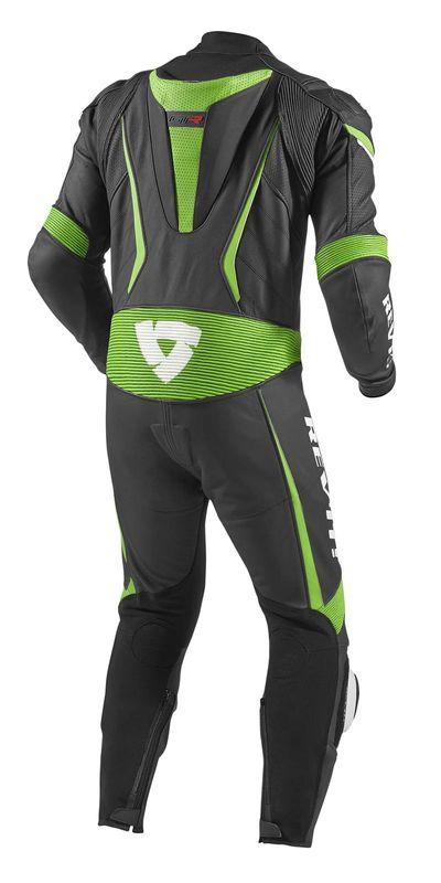 combinaison rev it gt r noir vert homme combinaisons equipement du motard accessbk. Black Bedroom Furniture Sets. Home Design Ideas