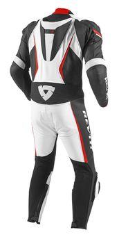 combinaison rev it gt r blanc rouge homme combinaisons equipement du motard accessbk. Black Bedroom Furniture Sets. Home Design Ideas