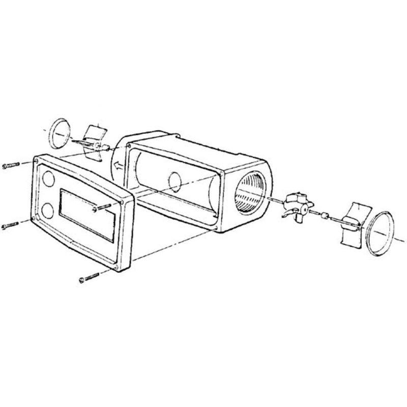 Compteur edm st pour remplissage d´essence en aluminium - débimètre