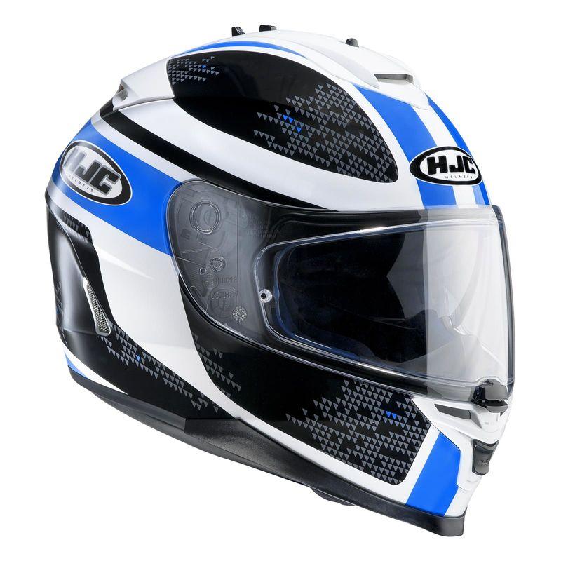 casque hjc is 17 paru bleu d cos casques equipement du motard accessbk. Black Bedroom Furniture Sets. Home Design Ideas