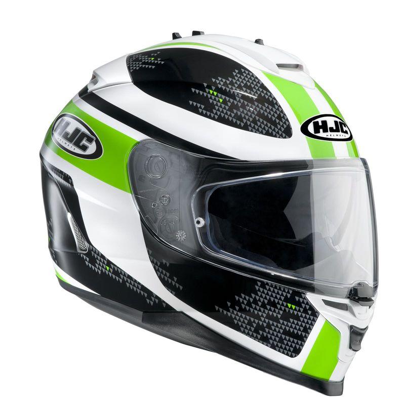 casque hjc is 17 paru vert d cos casques equipement du motard accessbk. Black Bedroom Furniture Sets. Home Design Ideas
