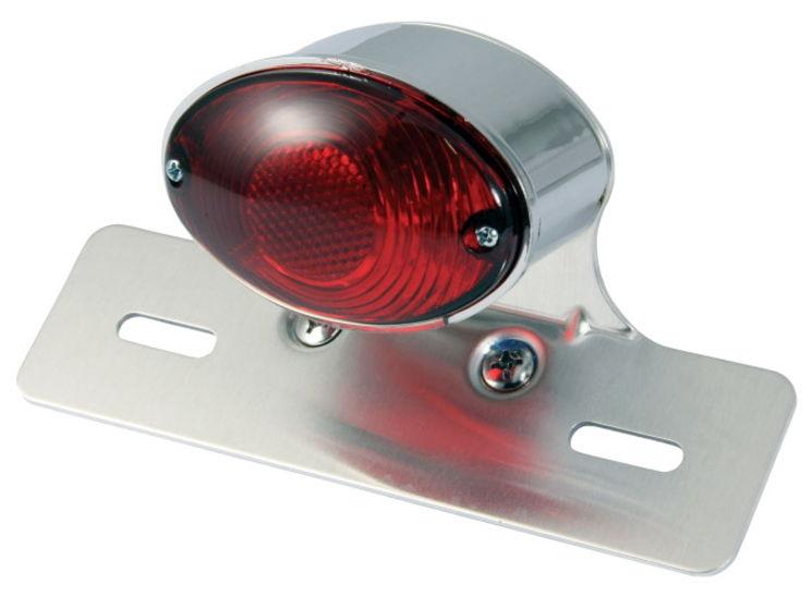 support plaque avec feu stop cat eye ampoule accessbk. Black Bedroom Furniture Sets. Home Design Ideas