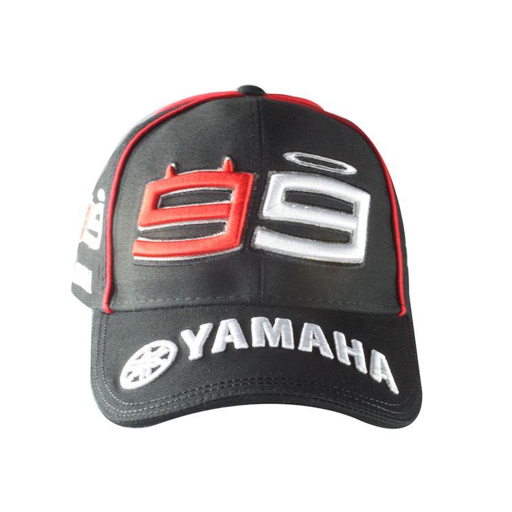 vente chaude en ligne 9c0d6 78a70 Casquette LORENZO Yamaha noire