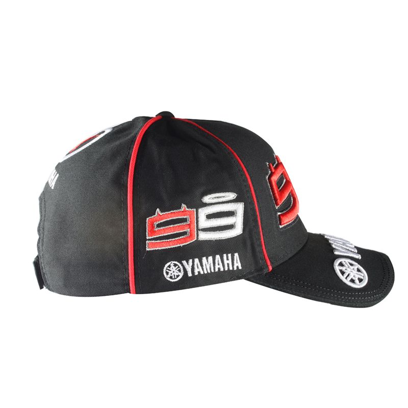 casquette lorenzo yamaha noire collection motogp sportswear et accessoires equipement du. Black Bedroom Furniture Sets. Home Design Ideas
