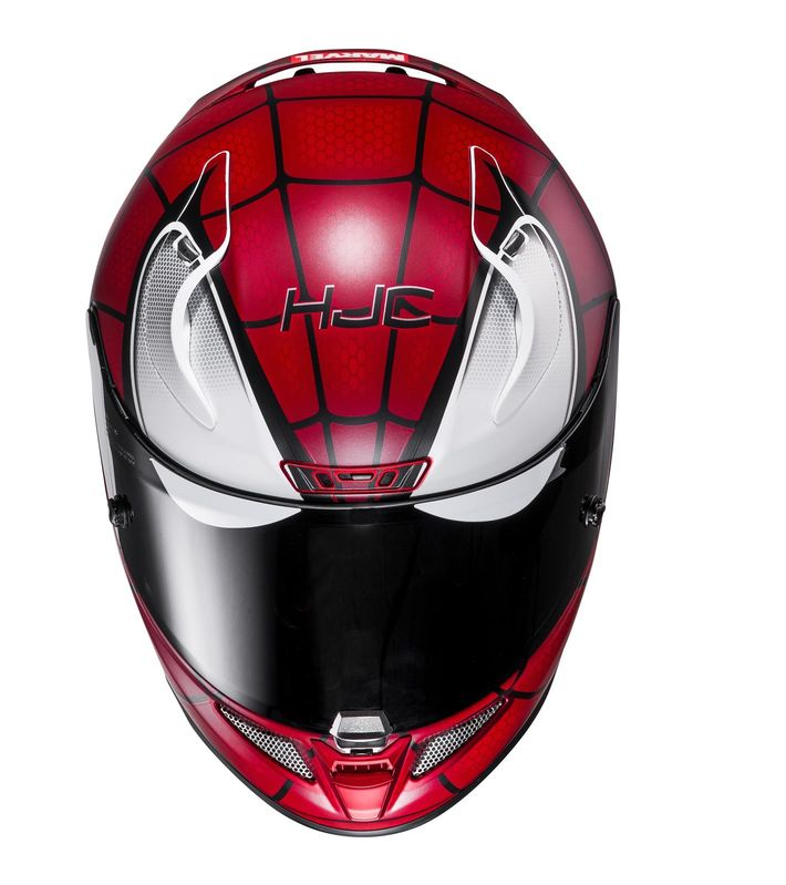 casque hjc rpha 11 spiderman marvel d cos casques equipement du motard accessbk. Black Bedroom Furniture Sets. Home Design Ideas
