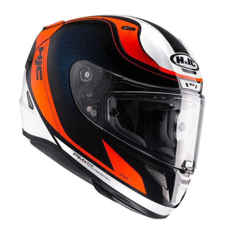 casque hjc rpha 11 riomont orange d cos casques equipement du motard accessbk. Black Bedroom Furniture Sets. Home Design Ideas
