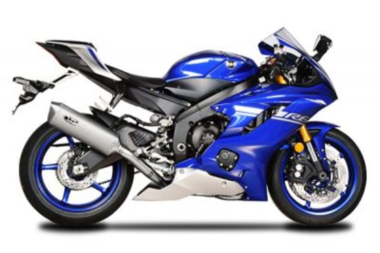 spark ligne compl te yamaha yzf r6 2017 2018 collecteur inox ou titane silencieux conique. Black Bedroom Furniture Sets. Home Design Ideas