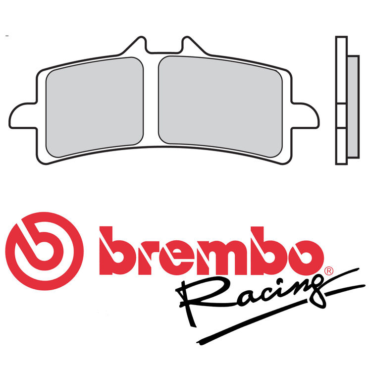 plaquettes frein brembo racing accessbk. Black Bedroom Furniture Sets. Home Design Ideas
