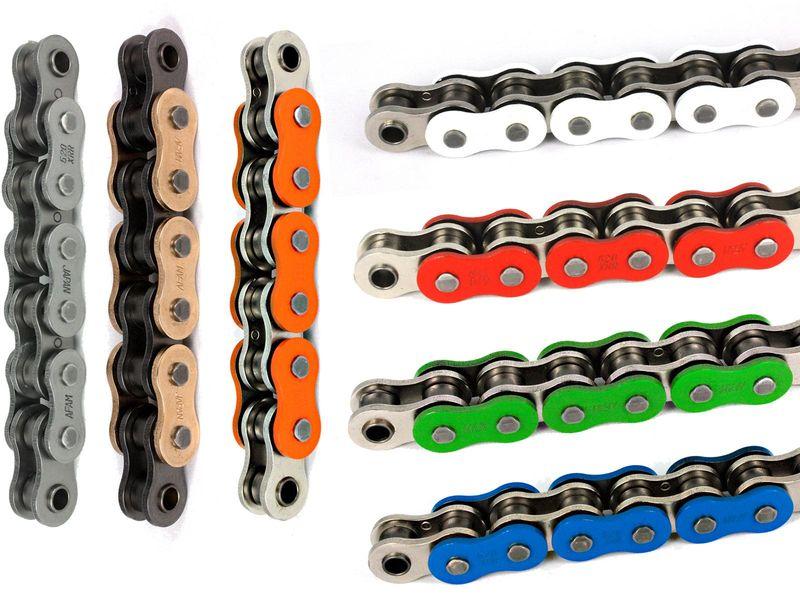chaine de transmission afam xhr en 520 525 ou 530 hyper renforc e chaines chaines pignons. Black Bedroom Furniture Sets. Home Design Ideas