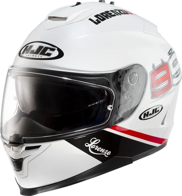 casque hjc is 17 lorenzo 99 replicas pilote casques equipement du motard accessbk. Black Bedroom Furniture Sets. Home Design Ideas